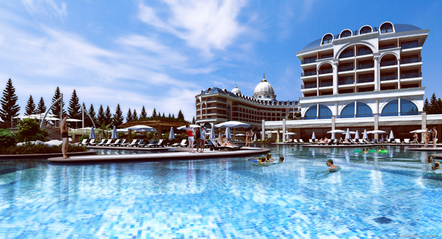 hotel adalya ocean in evrenseki